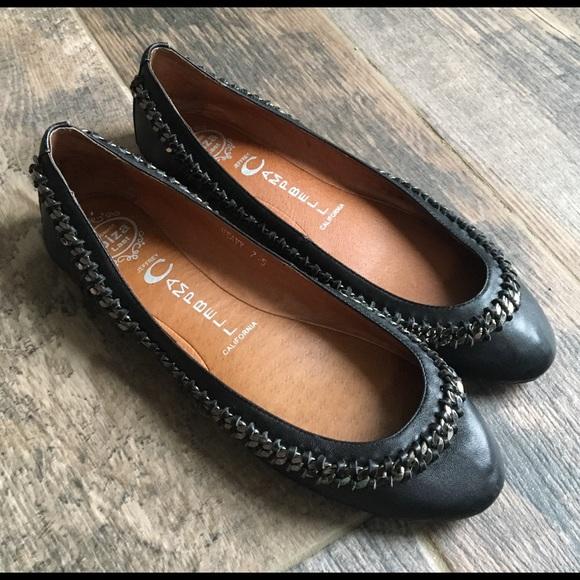 Ballerines Chaussures De Ballerine Pour Les Femmes En Vente, Noir, Cuir, 2017, 4,5 7,5 8,5 Campbell Jeffrey